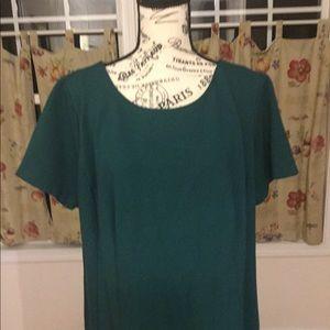 Talbots Dresses - Talbots Sheath Dress Hunter Green Size 16W